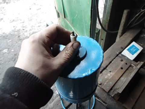 Пескоструй для свечей зажигания своими руками