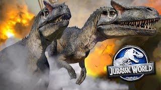 THE FALL OF JURASSIC WORLD!!! - Jurassic World Evolution