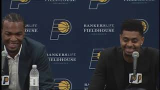 Jeremy Lamb & T.J. Warren's Introductory Press Conference