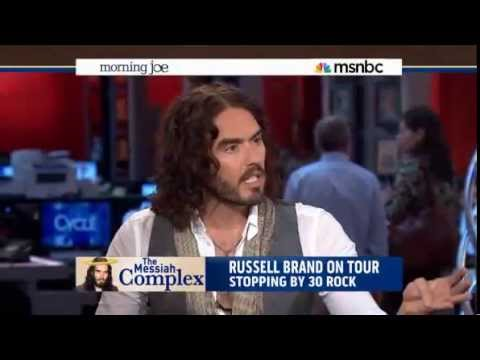 Russell Brand Hijacks MSNBC Morning Joe and Shows Them How to do Their Job - June 17, 2013