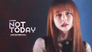 "LOONA (이달의 소녀) - ""Not Today"" BTS (Line Distribution)"