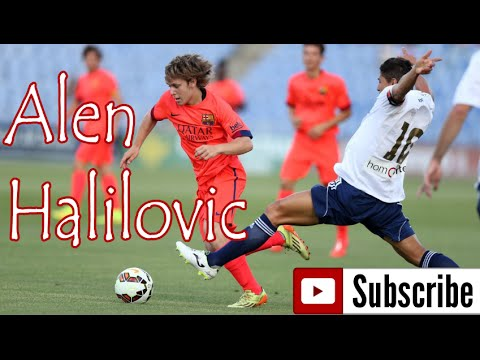 Alan halilović - Alen halilović - Skill - Pass - Trick - Attacking - Goals - New Messi 2014-2015