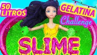 Piscina de Gelatina con Sorpresas, Glitter y Slime y Marinette y Adrien
