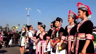 Hmong Culture New Year in Fresno  12/27/ 2017 -2018