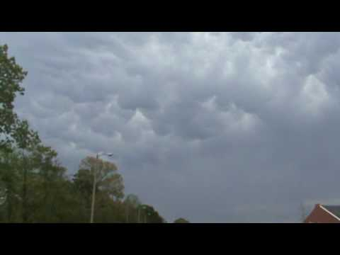 Mammatus in Citronelle, AL 4-2-09