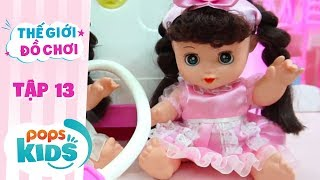 Thế Giới Đồ Chơi - Tập 13 - Twin Dolls Tập Làm Bác Sĩ | Baby Dolls & Toys Review