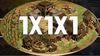 Age of Empires 2 HD 1x1x1 AoE2HD Gameplay PT BR