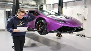 My Shocking £20,000 Lamborghini Bill
