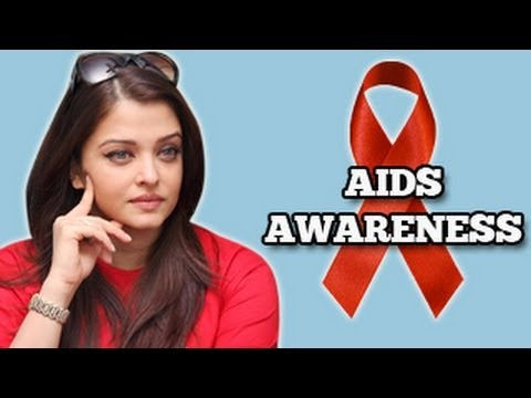 Aishwarya Rai Bachchan spreads AIDS awareness