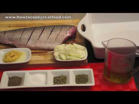 Baked Seabass With Lemon Salt, Marjoram, Tarragon And Olive Oil Recipes Fish Sea Bass