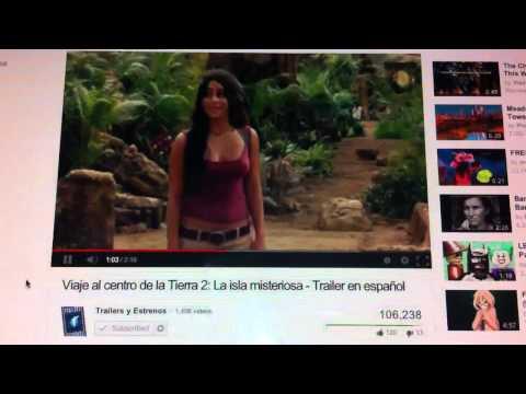 Viaje Al Centro De La Tierra 2: La Isla Misteriosa: Tráiler: En Español: HD 1080P
