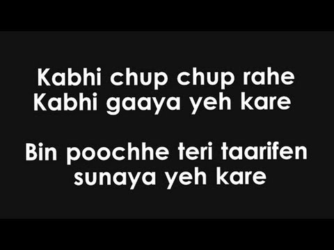 Mann Mera (Lyrics HD) - Table No. 21 ft. Gajendra Verma | FULL...