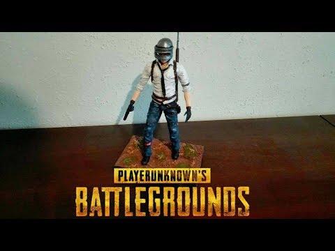 PUBG - Playerunknown's Battlegrounds Polymer Clay Figure