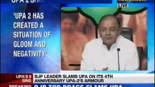 BJP on four years of UPA 2