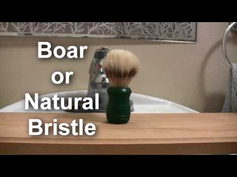 Mastery of the Shaving Brush: Part 1 - Choosing your Brush