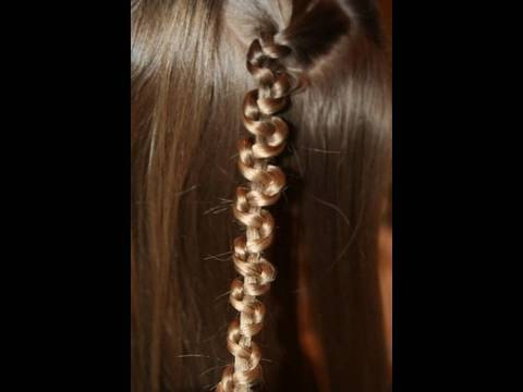 Cute Girls Hairstyles | Quick Slide-Up Braid