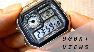 "CASIO ""Bond Style"" AE-1200WHD-1AV [HD]"