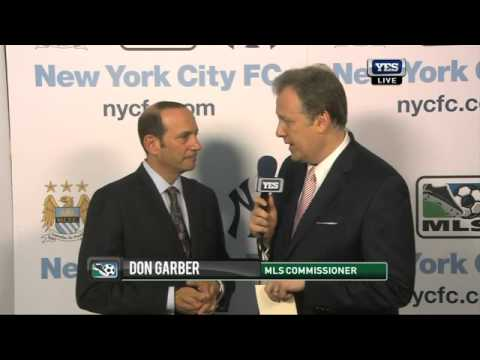 MLS Commissioner Don Garber on the formation of New York City Football Club