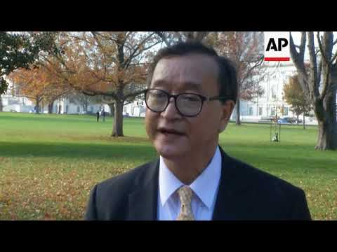 Former minority leader urges nations to cut ties with Cambodian govt