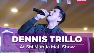 Dennis Trillo sings at Bakit Lahat Ng Gwapo May Boyfriend Mall Show