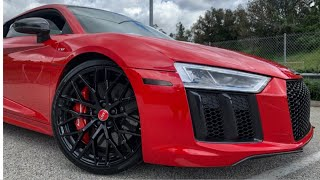 FIRST MODS ON THE NEW R8! | TOOK IT TO BODEN AUTOHAUS