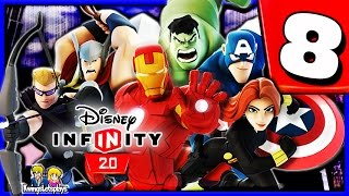 Disney Infinity 2.0 Walkthrough Part 8 (Safety First) The Avengers Playset