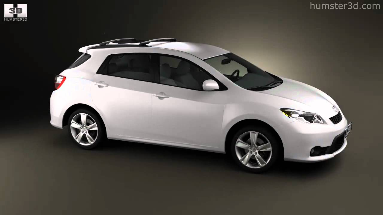 Toyota Matrix Voltz 2011 By 3d Model Store Humster3d Com
