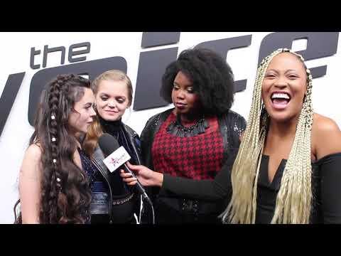 The Voice: Team Kelly's Chevel Shepherd, Sarah Grace & Kymberli Joye Sends Fans A Message!