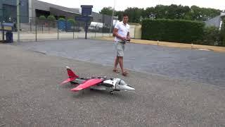 Rc Harrier Backyard Hover Testing