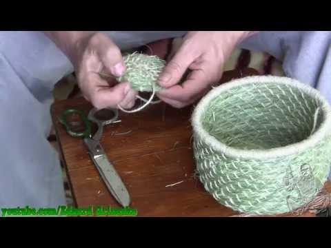Плетение их трав своими руками