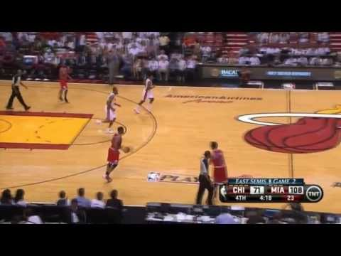 Norris Cole 18 Points vs Chicago (Full Highlights) (2013 NBA Playoffs GM2) ᴴᴰ