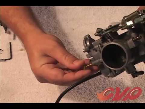 CV carburetor tuning part 2: Mixture screw adjustment