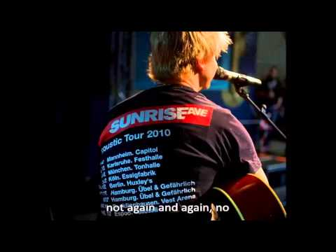 Sunrise Avenue - Not Again (Acoustic live 2010)