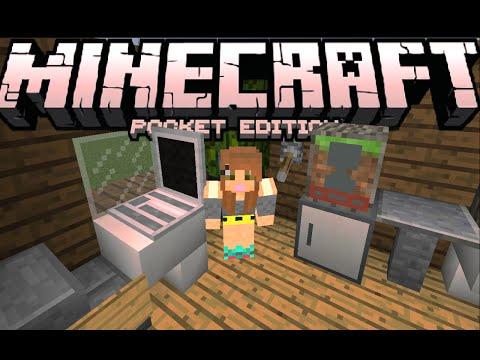 0.13.0 REDSTONE FURNITURE MOD!! - Pocket Decoration! - Minecraft PE (Pocket Edition)
