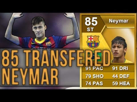 FIFA 13 | 85 TRANSFERRED NEYMAR! Review & In-Game Stats | Ultimate Team