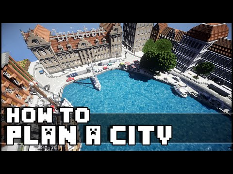 Minecraft - How To Plan a City
