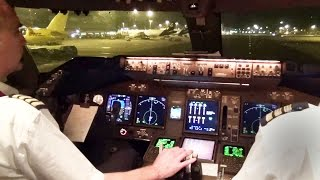 Boeing 747-400 Take-Off & Start-Up Hong Kong w/ ATC - KLM Cargo