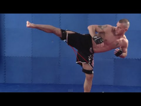 MMA Training With Speed Bands Image 1