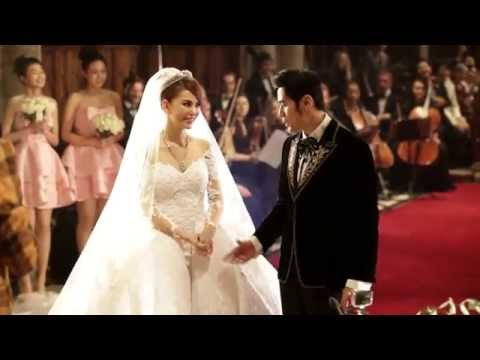 周杰倫與昆凌教堂婚禮畫面 Jay Chou & Hannah's Wedding@ Selby Abbey