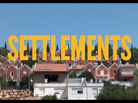 Israeli Illegal Settlements - What You Need to Know in 60 seconds