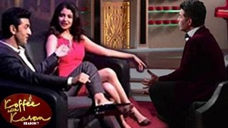 Koffee With Karan Season 5   Ranbir Kapoor & Anushka Sharma promote Bombay Velvet