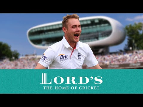 Stuart Broad's Lighting Quick 5 Wickets | Lord's Advent Calendar - 16th December