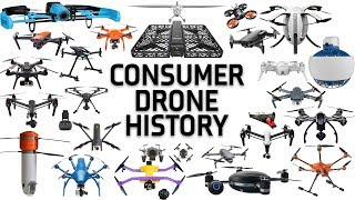 7 Years Of Consumer Drone History (2012-Present)