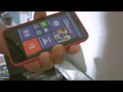 Nokia LUMIA 620 Unboxing ESPAÑOL