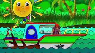 Maria Oyuncak Dünyasında - Tekne Gezisi - Rengarenk Bir Macera