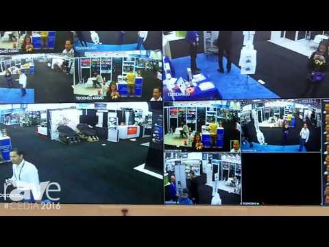 CEDIA 2016: ToughDog Security Shows Video Wall Display and Security Cameras, Plus Software Control