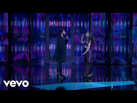 Download Lagu The Weeknd & Ariana Grande – Save Your Tears (Live on The 2021 iHeart Radio Music Awards).mp3