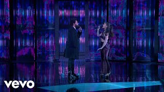 Download Lagu Mp3 The Weeknd & Ariana Grande – Save Your Tears Live on The 2021 iHeart Radio  Awards