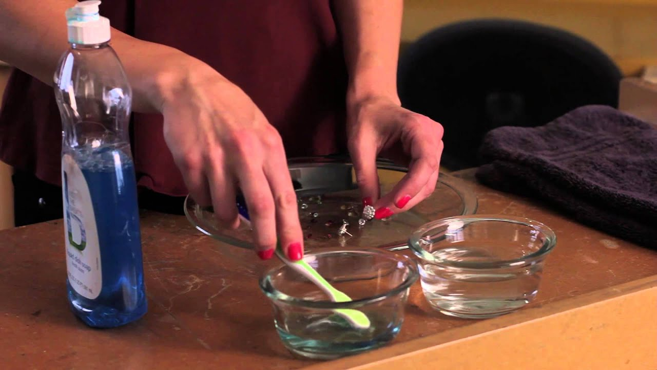 how to clean sterling silver jewelry with gemstones