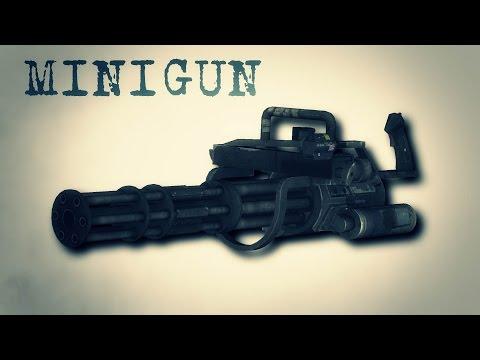 Легендарное оружие - МИНИГАН
